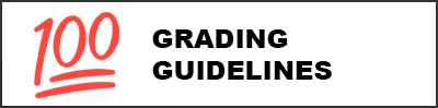 Link will open to the Student Grading Guidelines/Pautas de calificación