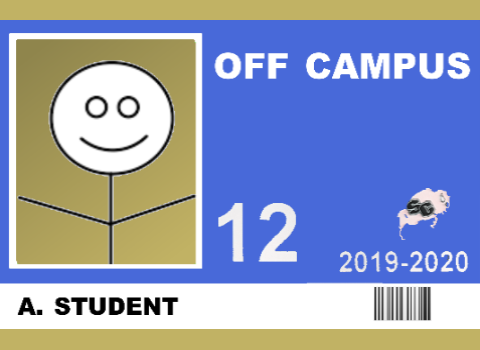 image of off-campus id - click to learn more