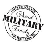 proud military family