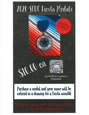 SCUC ISD Fiesta Medal