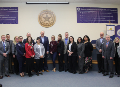 SCUC ISD hosts Schertz Chamber Leadership CORE