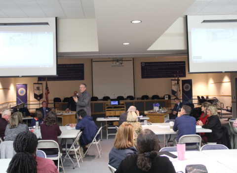 Community Advisory meeting engages public on district present & future