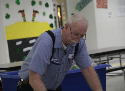 Kindness Week finds Dobie JHS custodian