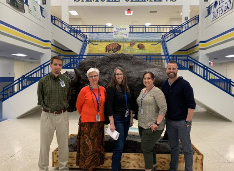 Five Clemens HS teachers selected as Advanced Placement exam readers