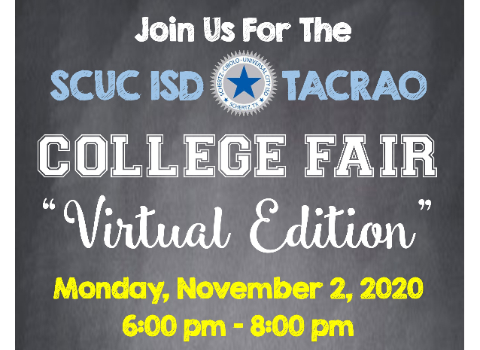 SCUC ISD College Fair registration info