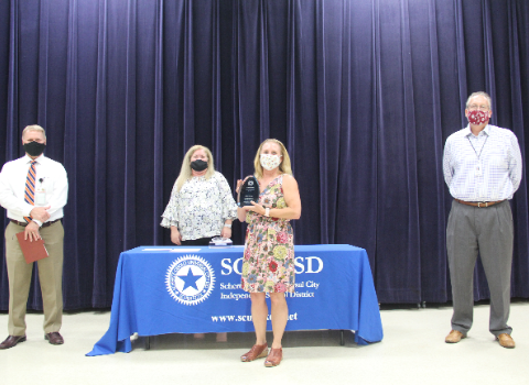 Wiederstein ES employees honored in CTE/Years of Service recognition