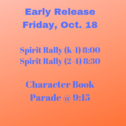 Early Release, October 18