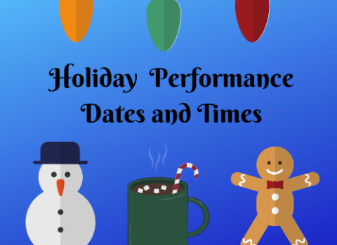 Holiday Performance Info